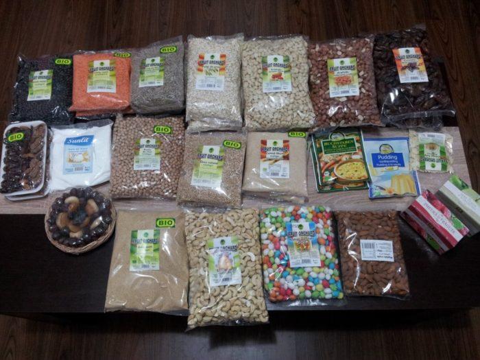 comanda dried fruits noiembrie