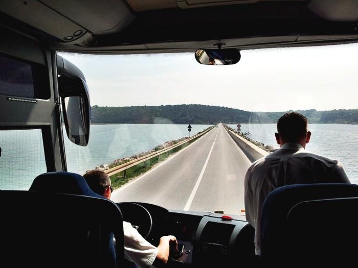 Unul dintre motivele pentru care e mai bine sa mergi cu autocarul, in loc de tren, in Croatia
