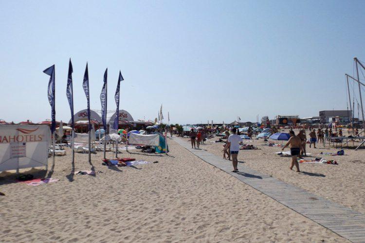 Plaja din Eforie Nord
