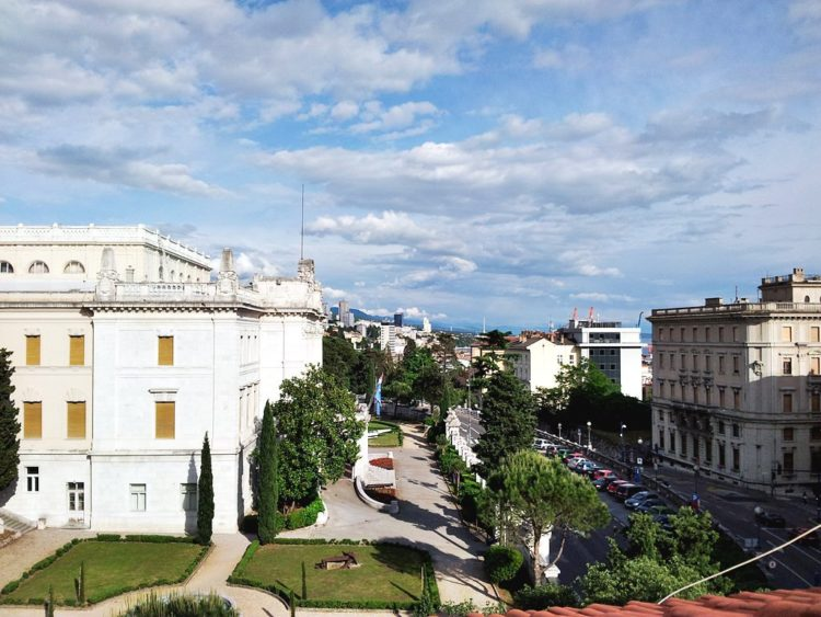Vedere din apartamentul din Rijeka