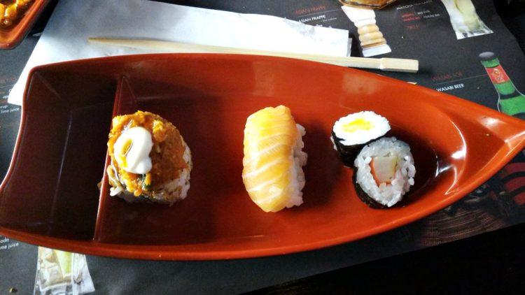 Sushi la un All You Can Eat cu specific asiatic